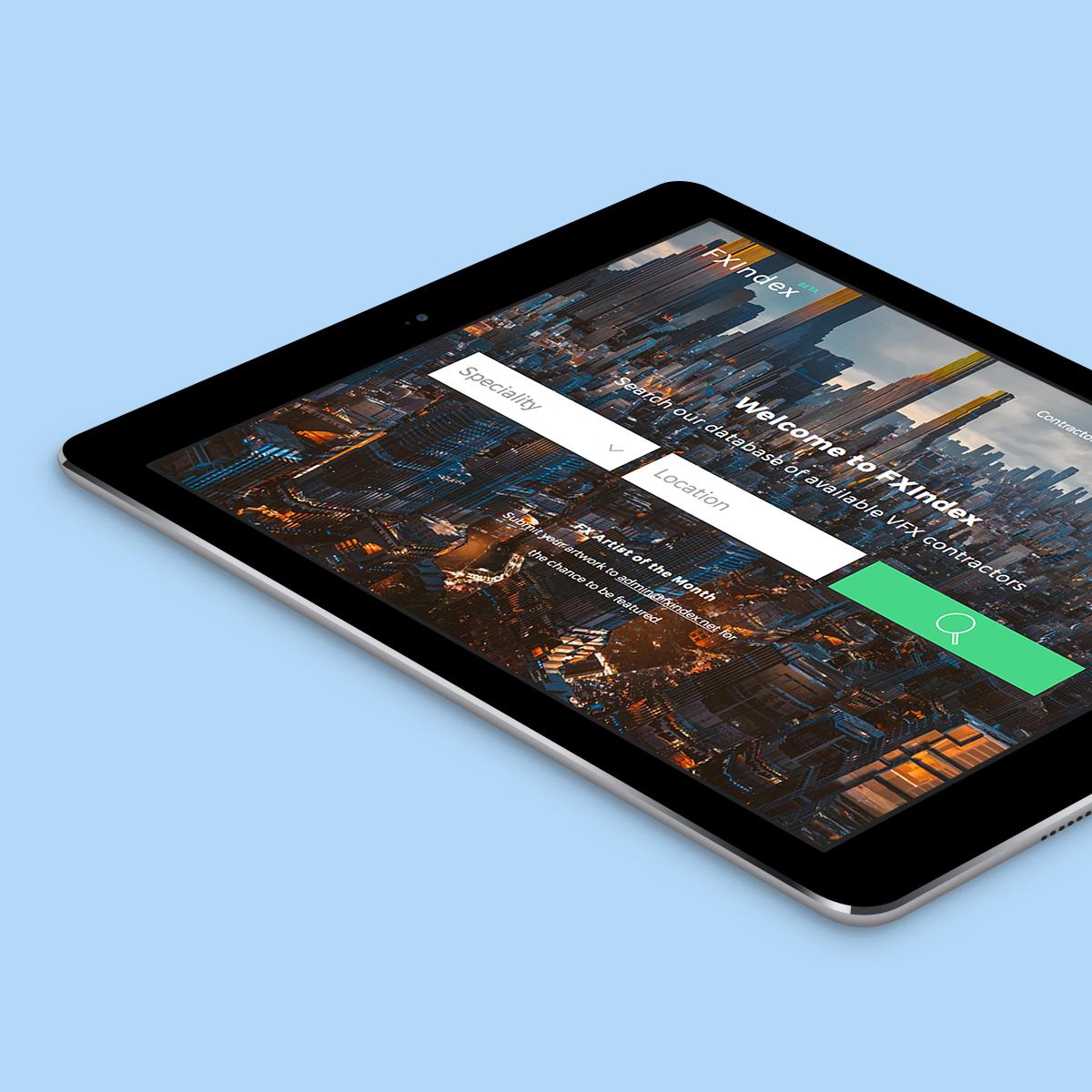 FXIndex Website Design